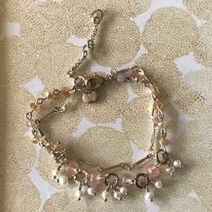 Petalette Two-Row bracelet